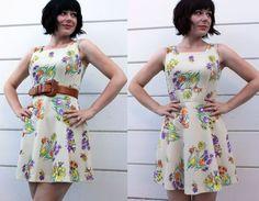 vintage 70s mini dress - $35