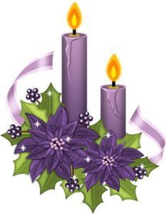 christmas candles clip art | Christmas clip art on Pinterest | Picasa, Christmas Coloring Pages and ...