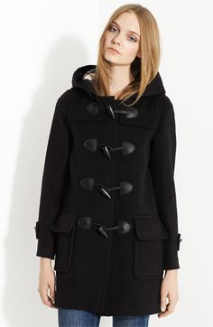 Burberry Toggle - was my favorite coat about five years ago, until I moved and 'lost' it. Sigh.