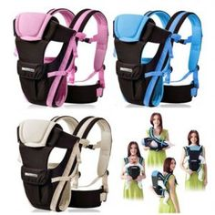 CdyBox Adjustable 4 Positions Carrier Backpack Pouch Bag Wrap Soft Structured Ergonomic Sling Front Back Newborn Baby Infant (Blue) >>> Awesome product. Click the image : Hiking gear Baby Carrier Newborn, Best Baby Carrier, Pouch Bag, Backpack Bags, Sling Backpack, Kangaroo Baby, Baby Wraps, Hiking Gear, Go Camping