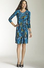 Wearever printed twist dress only $29.99