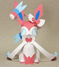 Sylveon - 1 page !Japanese instructions !