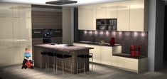 Vizualizácie   Kuchyne a kuchynské štúdiá DOMOSS Kitchen Island, Table, Furniture, Home Decor, Island Kitchen, Decoration Home, Room Decor, Home Furniture, Interior Design