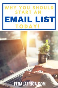 Learn why it's important to start your email list as soon as possible. #emailmarketing #makemoneyonline #affiliatemarketing Email Marketing, Affiliate Marketing, Your Email, Email List, Make Money Online, Online Business, Dreaming Of You, Africa, Learning