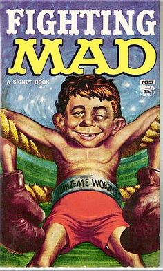 Fighting Mad. Signet paperback book.