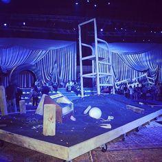 Set design at Marc Jacobs Spring-Summer 2014 Fashion Show #NYFW #RTW #SS14 #MarcJacobs #LVMH via sophieannak