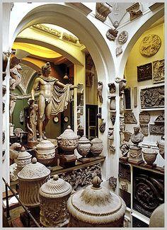Sir John Soane's House Museum, London.