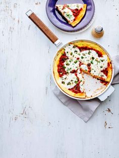 Pizza Frittata - Rachael Ray Every Day