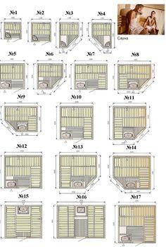 Saunas, Diy Sauna, Sauna Steam Room, Sauna Room, Jacuzzi, Mobile Sauna, Building A Sauna, Sauna House, Sauna Design