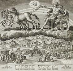 Johannes Sadeler I (Flanders, Brussels, 1550-circa 1600) Title Saturn