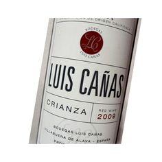 Luis Cañas Crianza, es ta elaborado por Bodegas Luis Cañas, con denominación de origen Rioja, con las cariedades Tempranillo y Garnacha, un vino excepcional