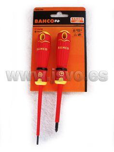 Set destornilladores aislados BahcoFit B220.002 #herramientas #bricolaje #taller #BAHCO