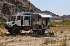 Unimog Camping