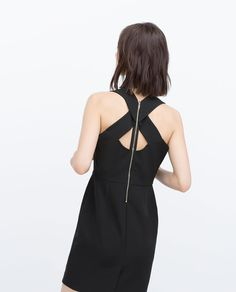 ZARA - SALE - DRESS WITH BACK DETAIL