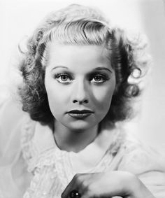 A gorgeous young Lucille Ball