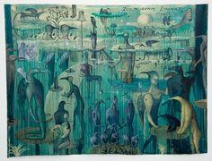 W D Hammond - Auckland Art Gallery Artist Painting, Watercolor Paintings, Auckland Art Gallery, Modern Art, Contemporary Art, Cobra Art, New Zealand Art, Nz Art, Exotic Pets