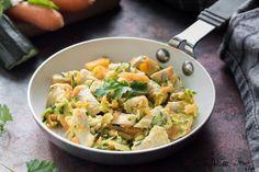 Bocconcini di petto di pollo con verdure. Petto di pollo sfizioso e leggero. Una ricetta light adatta anche a chi è a dieta, ma vuole mangiare sempre con gusto !