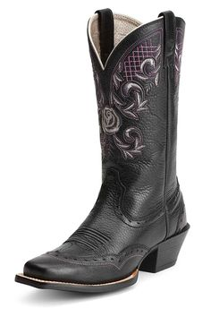 Ariat Women's Black Terrace Acres Cowgirl Boots - on sale & free shipping!
