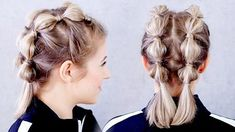 workout hairstyles for short hair / workout hairstyles for short hair ; workout hairstyles for short hair gym ; workout hairstyles for short hair bobs Short Hair Styles Easy, Braids For Short Hair, Short Hair Cuts, Curly Hair Styles, Natural Hair Styles, Short Hair Tutorials, Short Hair Braids Tutorial, Braided Short Hair, Braid Tutorials