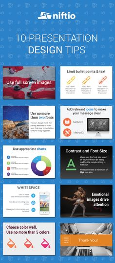 10 Design Tips to Make Your Presentation Unforgettable - Niftio
