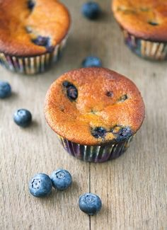 Blueberry Muffins (Vegan and Paleo)
