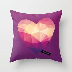 Vector Love 01 Throw Pillow by Marco Recuero - $20.00