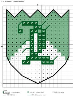 alfabeto araldico L