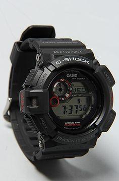 The Mudman Scorpion Watch in Black by G-SHOCK