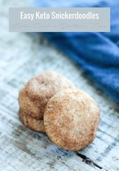 Carb Snickerdoodles - Keto & Gluten Free Crispy on the outside, tender on the inside, these low carb snickerdoodles are everything you love about a keto friendly cookie! Easy to make & gluten free!Love Is Love Is may refer to: Low Carb Sweets, Low Carb Desserts, Low Carb Recipes, Atkins Desserts, Keto Friendly Desserts, Ketogenic Recipes, Healthy Desserts, Ketogenic Diet, Paleo Dessert