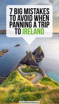 7 Big Mistakes To Avoid When Planning A Trip To Ireland - Travel Tips Europe Travel Tips, Travel Advice, Travel Destinations, Travel Quotes, Trip Advice, Road Trip Europe, Travelling Europe, Travel Trip, Travel Info