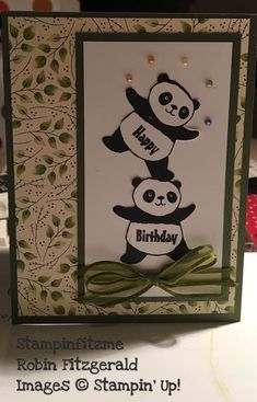 SU: Party Pandas 2018-SAB. (Pin#1: Animals: Wild-Far Lands--Asian/ Chinese).