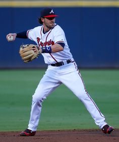 Dansby Swanson Photos Photos - Dansby Swanson #2 of the Atlanta Braves makes a play on a ground out hit by Travis Jankowski #16 of the San Diego Padres in the first inning at Turner Field on August 31, 2016 in Atlanta, Georgia. - San Diego Padres v Atlanta Braves