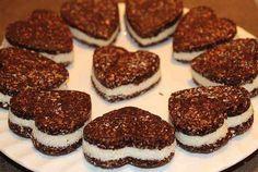 Nepečené, zdravé Oreo sušenky bez cukru