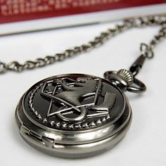 Edward Elric Cosplay Pocket Watch - USD $ 12.99
