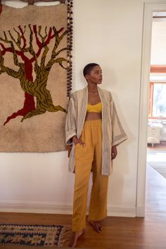 Black Girl Fashion, Look Fashion, Fashion Outfits, Kimono Fashion, Look Kimono, Kimono Outfit, Summer Outfits, Casual Outfits, Look Boho