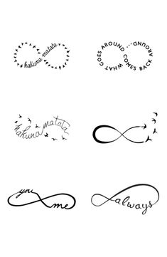 25 Best Infinity Tattoos For Couples Images Cute Tattoos Infinity