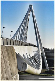 Balijbrug, Zoetermeer Verbinding tussen Rokkeveen en Meerzicht (The Netherlands)