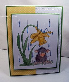 CAS371 Spring Rain by Scraperwannabe - Cards and Paper Crafts at Splitcoaststampers