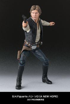 S.H. Figurarts Star Wars: A New Hope Han Solo #StarWars