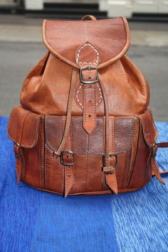 Backpack by Leatherfinerwork on Etsy, $159.00