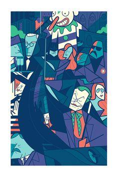 Ale Giorgini - Burton's Batman - Galerie Sakura