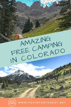 Kayak Camping Hacks Guide to free camping near Denver Colorado USA. Free camp sites in the Rocky Mountains of Colorado. Where to camp in Colorado. Guide to camping near Denver Colorado. Camping Ideas, Camping Guide, Camping Essentials, Camping Checklist, Camping Supplies, Couples Camping, Family Camping, Vacation Checklist, Family Trips