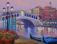 Mikki Senkarik 1954 | American Plein-air painter | A Touch of Greece | Tutt'Art@ | Pittura * Scultura * Poesia * Musica |