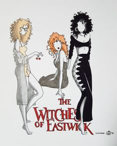 Inktober 2017 The witches of Eastwick VirginieBelin