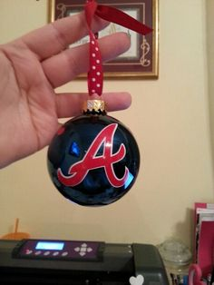 Atlanta Braves ornament
