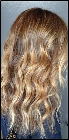 golden blonde hair color: Falling under the bronde category, this in-between shade flatters nearly every skin type and is the same admired color as supermodel Gisele Bundchens golden mane.