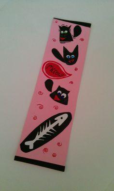 Cat bookmark - Meow!