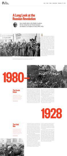 The British Academy Simple Web Design, Web Ui Design, Page Design, Book Design Layout, Web Layout, Editorial Layout, Editorial Design, Identity, Typography Poster Design