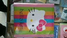 Binder Hello Kitty Garis 20ring