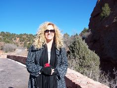 This is Erin, our eldest daughter.  Taken in the Garden of the Gods when she was able to visit us in 2011 for Thanksgiving.